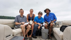 Lake Mixing Field Research Team - Obenour, Smyth, Smithheart, and Aziz
